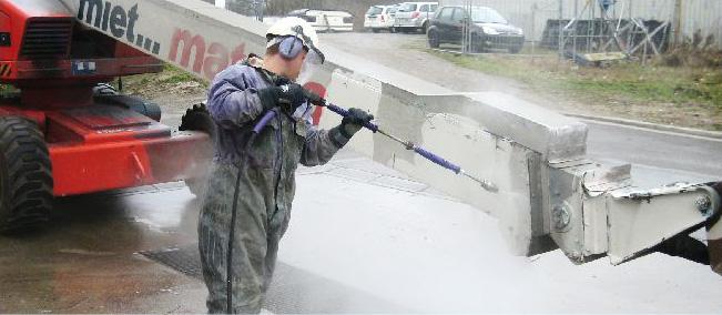 Unique Techniques in Hydrodemolition