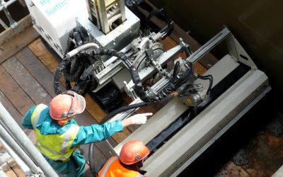 Mine Capping with Robotic Hydrodemolition