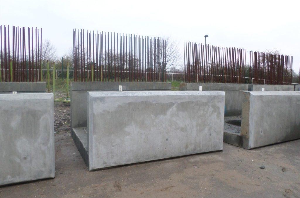 Cutting Precast Concrete using Hydrodemolition