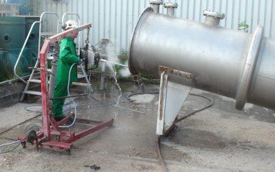 Unblocking a Heat Exchanger using the Peinemann