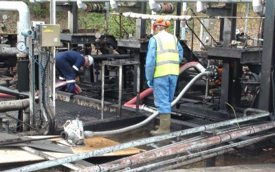 Removing Debris With Industrial Pipe Cleaning